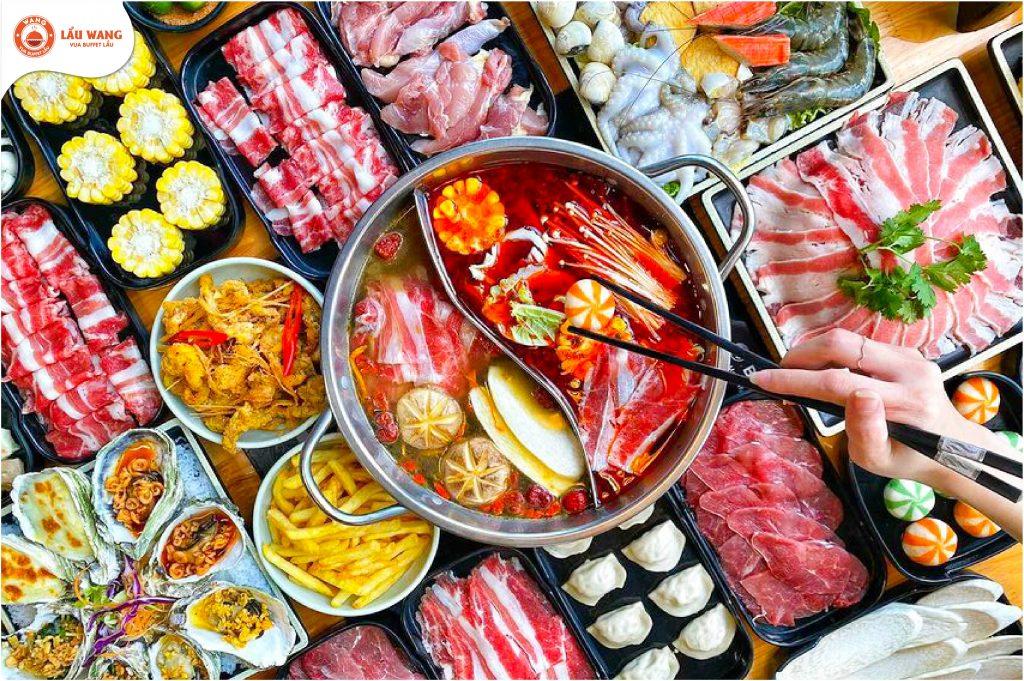 Menu Lẩu Wang Nguyễn Khang mang lại trải nghiệm mới mẻ cho thực khách