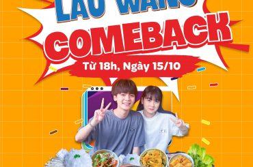 Lẩu Wang comeback